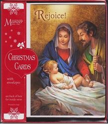 Picture of Rejoice Christmas Cards