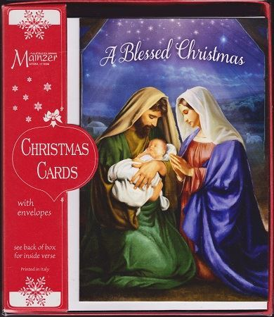 A Blessed Christmas Cards Catholic Books Crucifixes Gifts