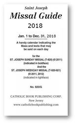 Picture of Saint Joseph Missal Guide 2018