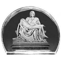 Picture of Etched Glass The Pieta