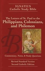 Picture of Ignatius Catholic Study Bible: The Letters to the Philippians, Colossians, and Philemon