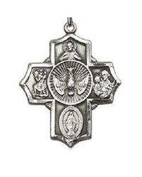 Picture of 5 Way Medal, Dove With Rays