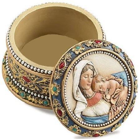 Picture of Ave Maria Rosary Box