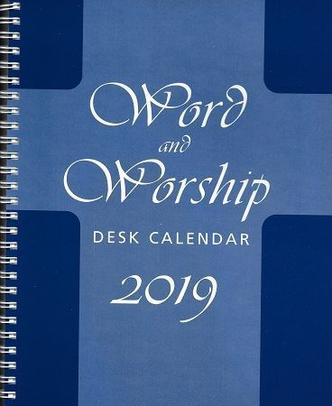 Picture of 2019 Word and Worship Desk Calendar