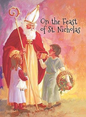 Picture of On the Feast of St. Nicholas Cards