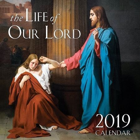 Picture of 2019 The Life of Our Lord Wall Calendar