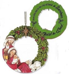 Picture of Holy Family Wreath Ornament