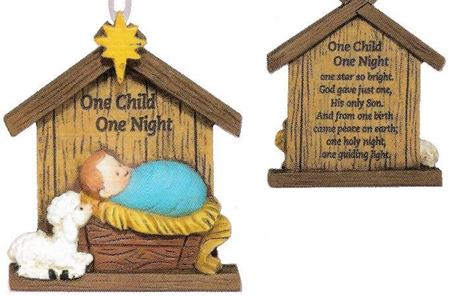 Picture of One Child One Night Ornament