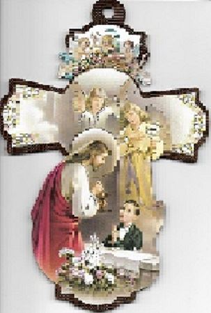 Picture of FIRST COMMUNION PLAQUE/BOY
