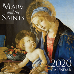 Picture of Mary and the Saints Calender 2020