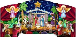 Picture of Advent Calendar Holy Family with Angels