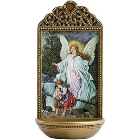 Picture of Guardian Angel Water Font 6 inch