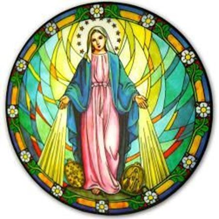 Picture of Our Lady of Grace Suncatcher