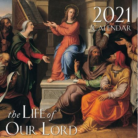 Picture of 2021 Life of Our Lord Wall Calendar