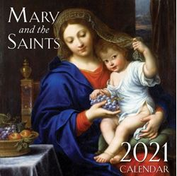 Picture of 2021 Mary and the Saints Wall Calendar