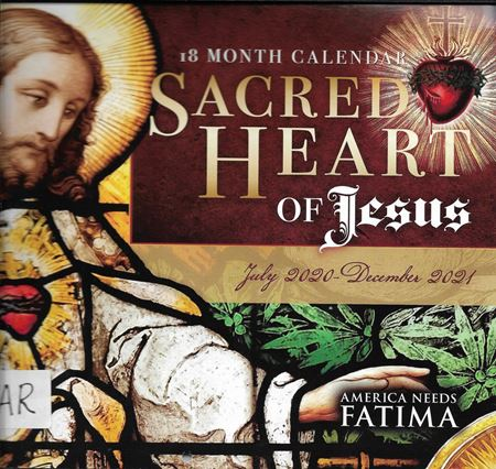 Picture of 18 Month Sacred Heart of Jesus