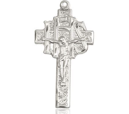 Picture of Crucifix IHS SS  24 Inch Chain