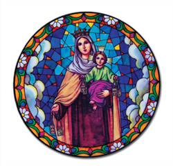 Picture of Our Lady of Carmel Suncatcher